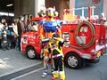 トミカヒーロー レスキューフォース キャラクターショー 消防署