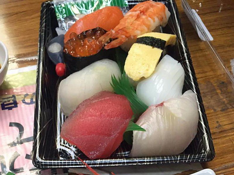 舞鶴道の駅とれとれセンター 寿司