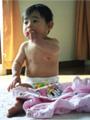 生後11ヶ月の女の赤ちゃんの写真