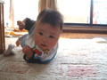 生後5ヶ月の男の赤ちゃんの写真