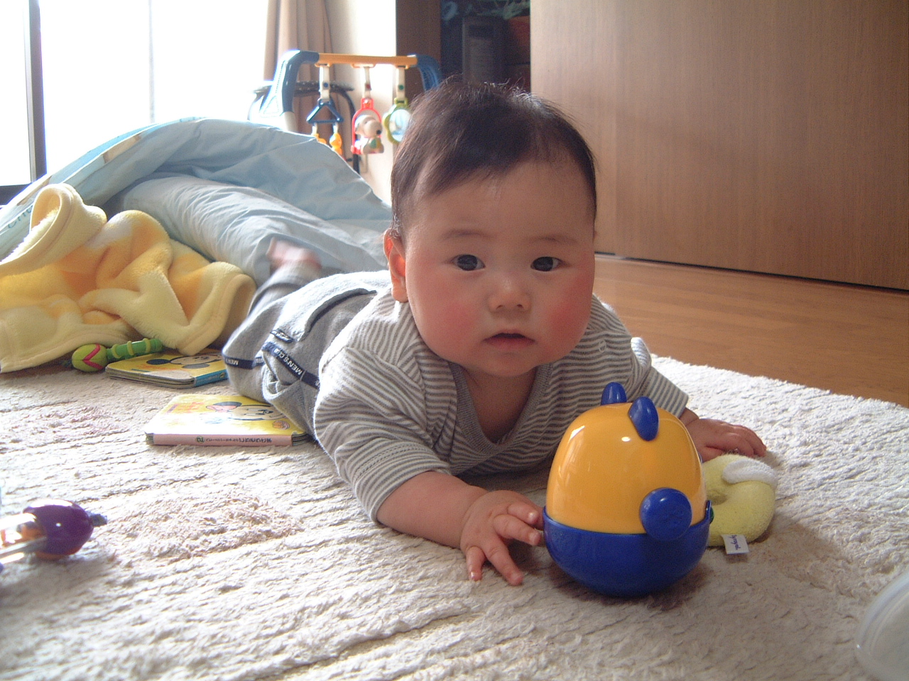 男の赤ちゃん 生後6ヵ月