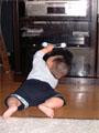 生後7ヶ月の男の赤ちゃんの写真