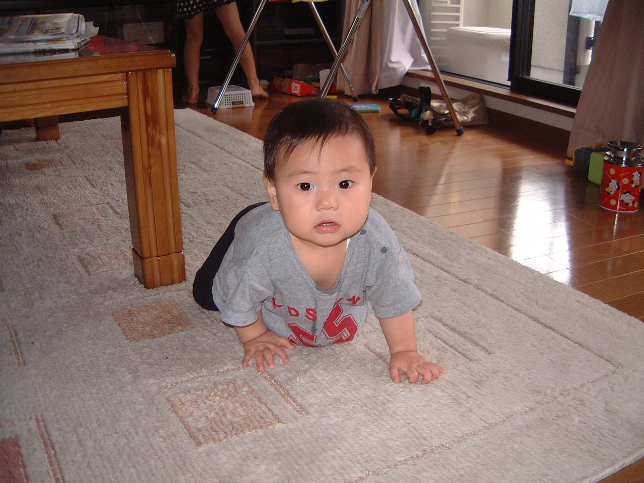 男の赤ちゃん 生後9ヵ月