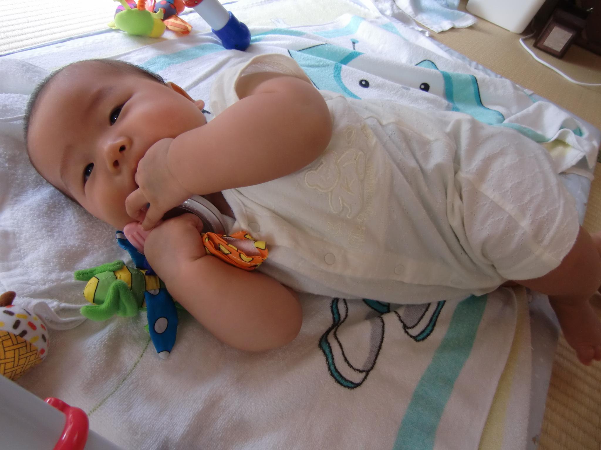 生後4ヶ月 育児 成長記録