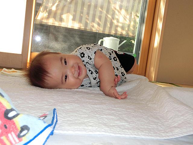 生後8ヵ月 ニコニコ