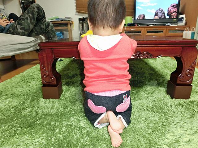 生後10ヵ月 たち膝