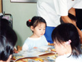 保育所(ゆりかご乳児センター)での生活の写真