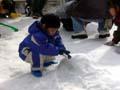 海遊館 雪遊び