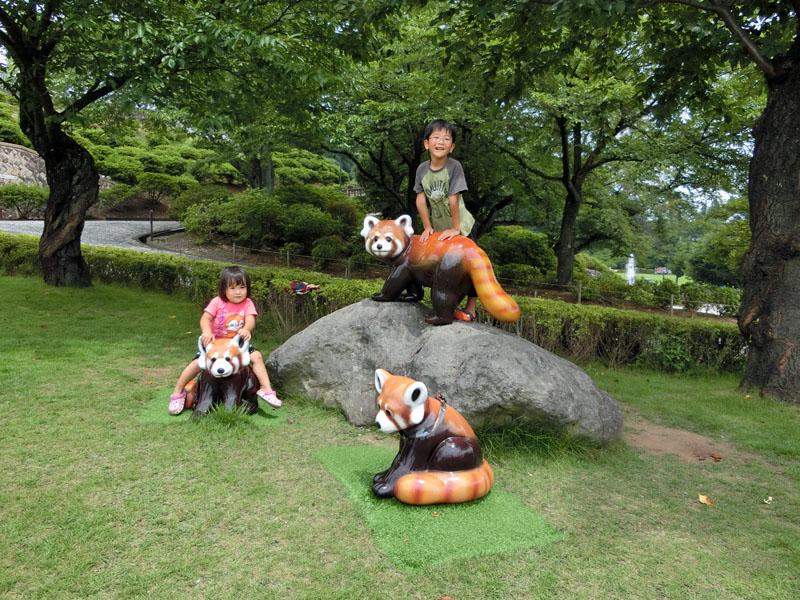西山公園 福井 鯖江 レッサーパンダ