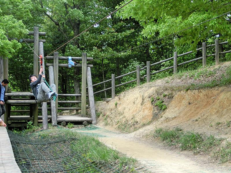 舞鶴 青葉山ろく公園 フィールドアスレチック