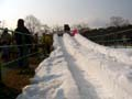 万博公園 雪祭り