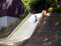 枚岡公園 滑り台