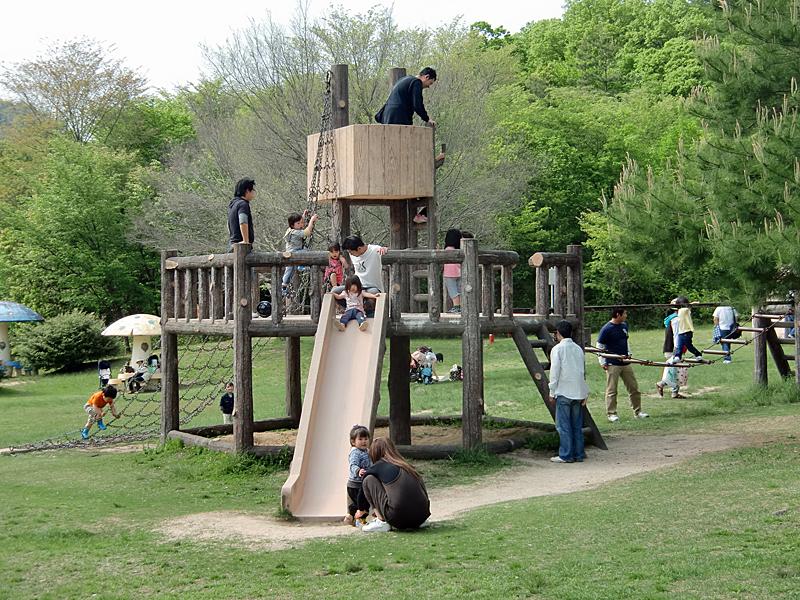希望が丘文化公園 幼児用遊具