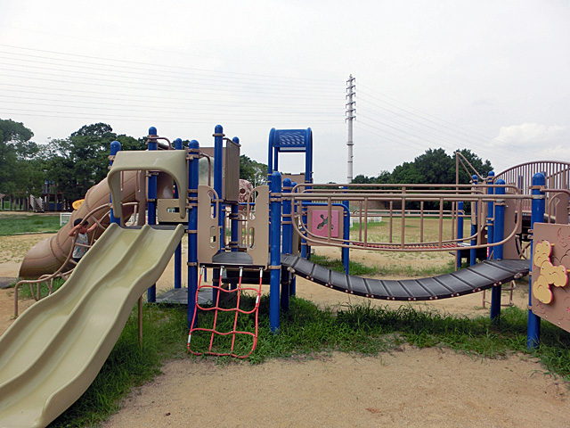 大泉緑地 幼児向け遊具