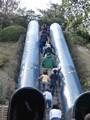 京都府立山城総合運動公園(太陽が丘) タイムトンネル 滑り台