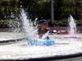 扇町プール 噴水