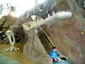 ビッグバン 室内遊び場 化石の洞窟