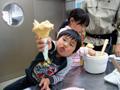 おおさか府民牧場 いちごアイス手作り体験