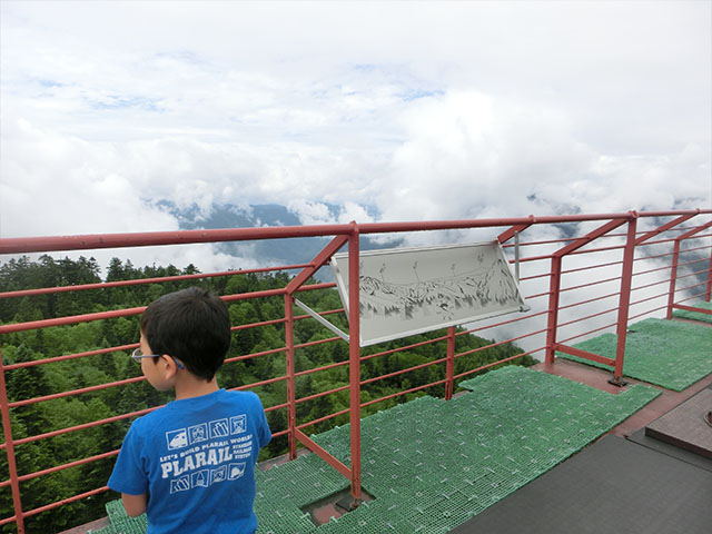 新穂高ロープウェイ 山頂展望台