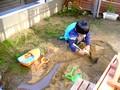 溝掃除 ドブ掃除 泥遊び