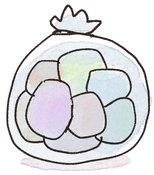 白ごまみたいな虫の卵