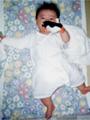 生後4ヶ月の女の赤ちゃんの写真