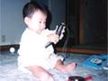 生後8ヶ月の女の赤ちゃんの写真