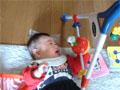生後6ヶ月の男の赤ちゃんの写真