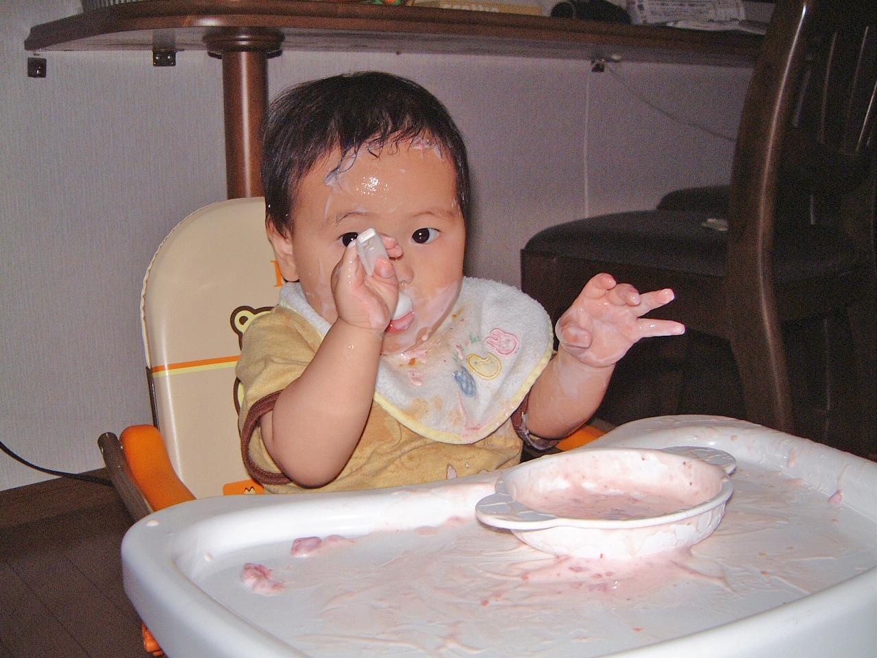 男の赤ちゃん 生後11ヵ月