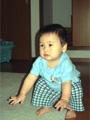 生後11ヶ月の男の赤ちゃんの写真