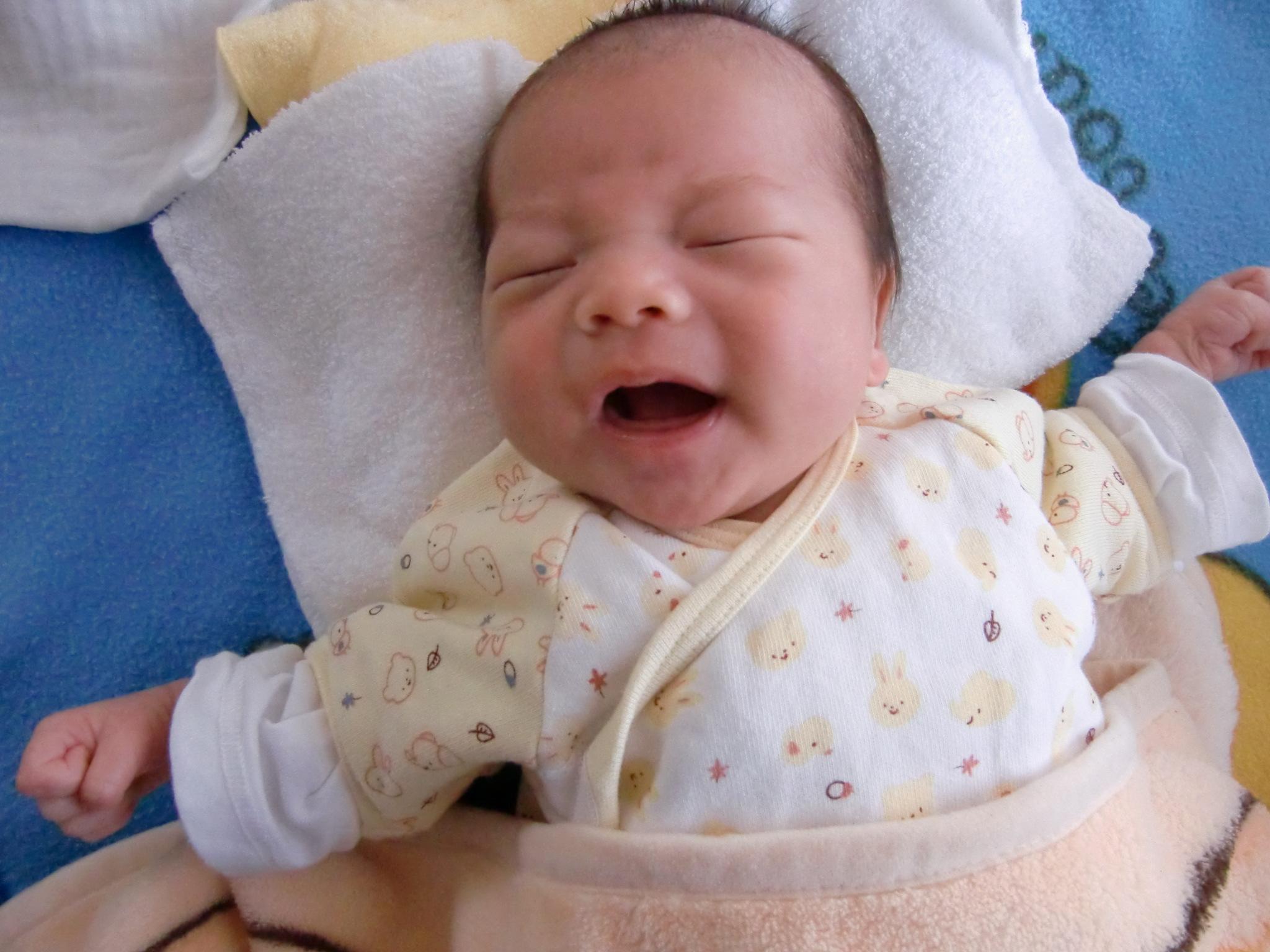 生後1ヶ月 育児 成長記録 寝ない