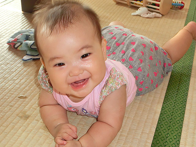 生後6ヵ月 歯が生えた