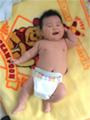 生後2ヶ月の赤ちゃんの写真