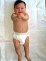 生後7ヶ月の赤ちゃんの写真