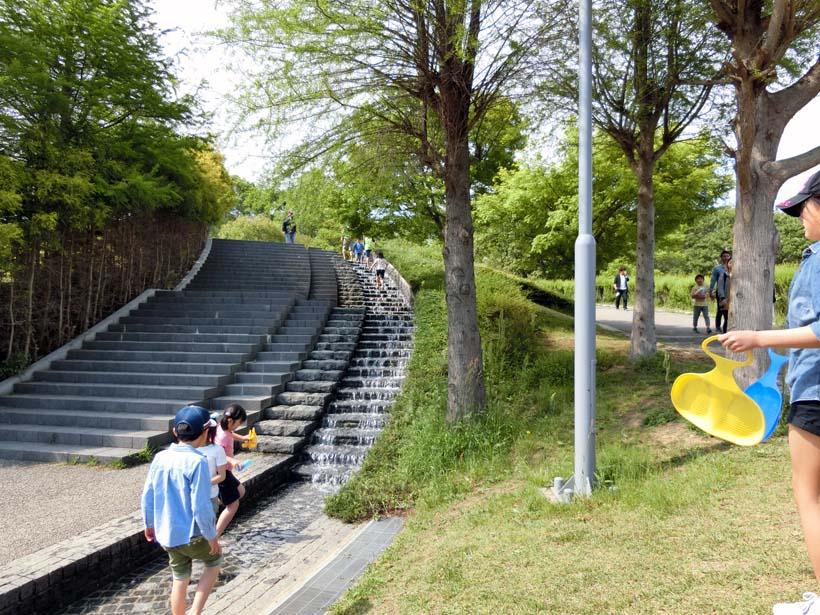 淡路島公園 水遊び
