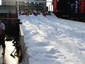 今宮戎神社 今宮こどもえびす祭 雪の滑り台
