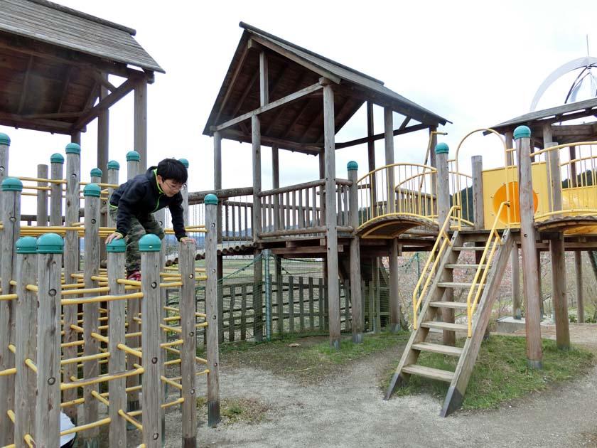 グリーンパーク山東 天狗の丘 大型遊具
