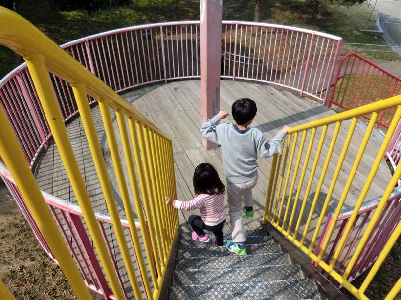 深北緑地公園 とりで広場 砦の遊具