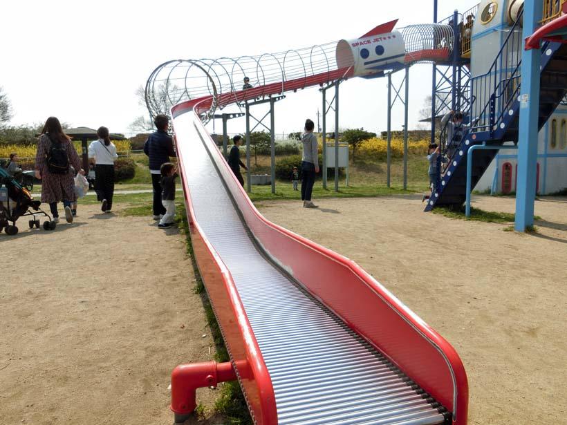 深北緑地公園 ロケット広場 ローラースライダー