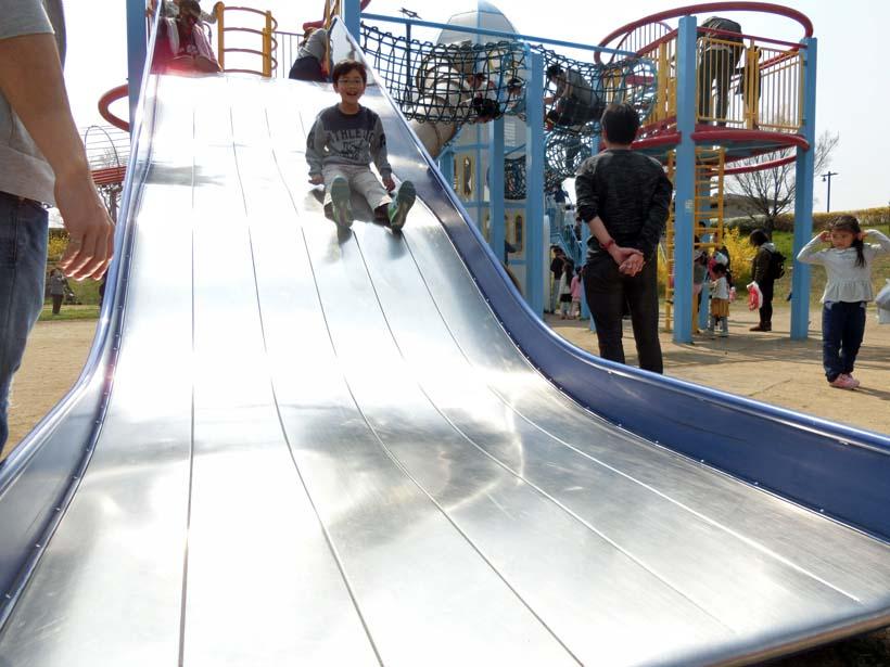 深北緑地公園 ロケット広場 大きな滑り台