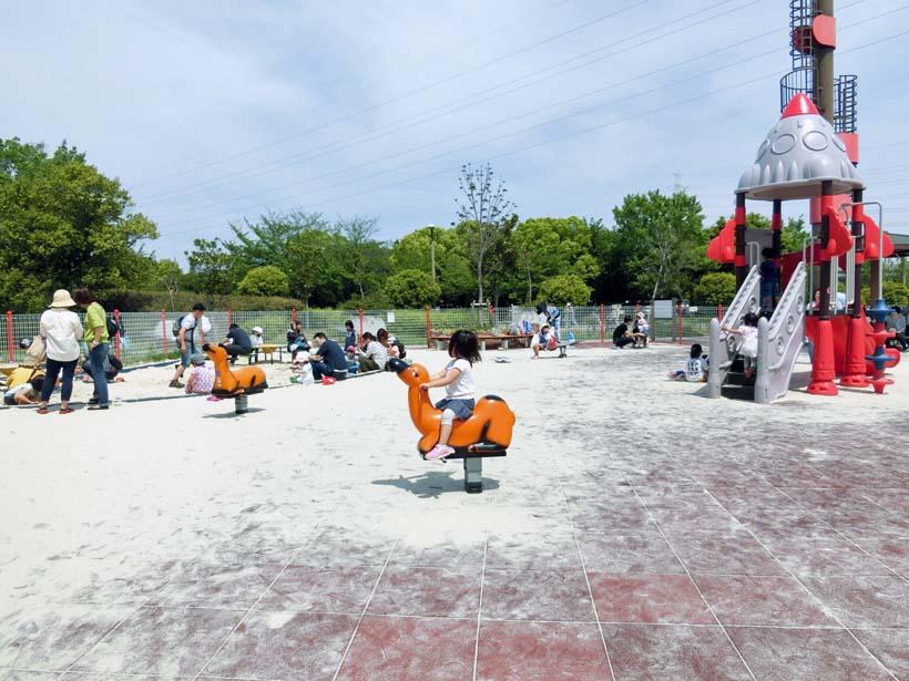 深北緑地公園 ロケット広場 砂場