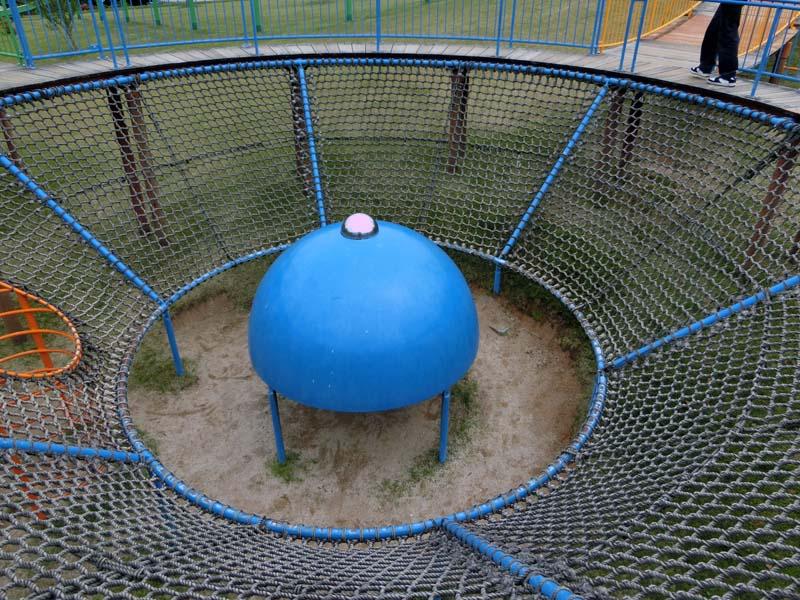 峰山途中ヶ丘公園 ロープ遊具