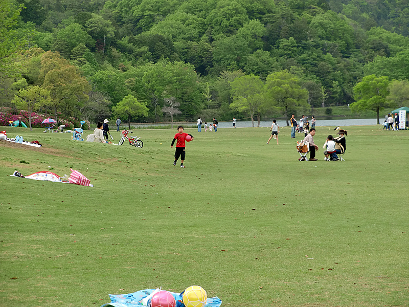 希望が丘文化公園(滋賀県) 芝生