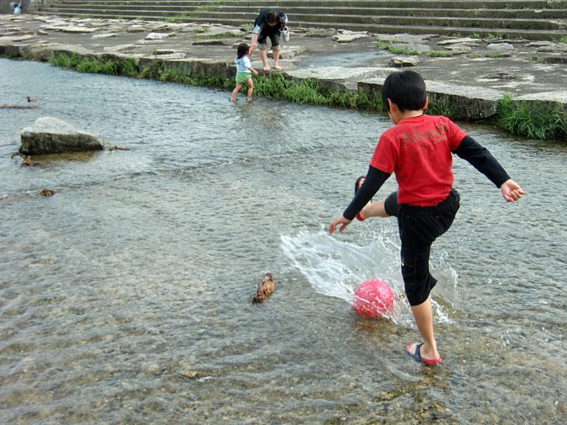 希望が丘文化公園(滋賀県) 水遊び