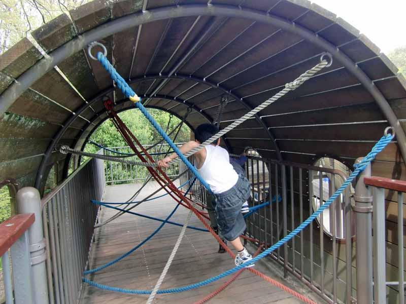 鴻巣山運動公園(城陽市総合運動公園) アスレチック遊具
