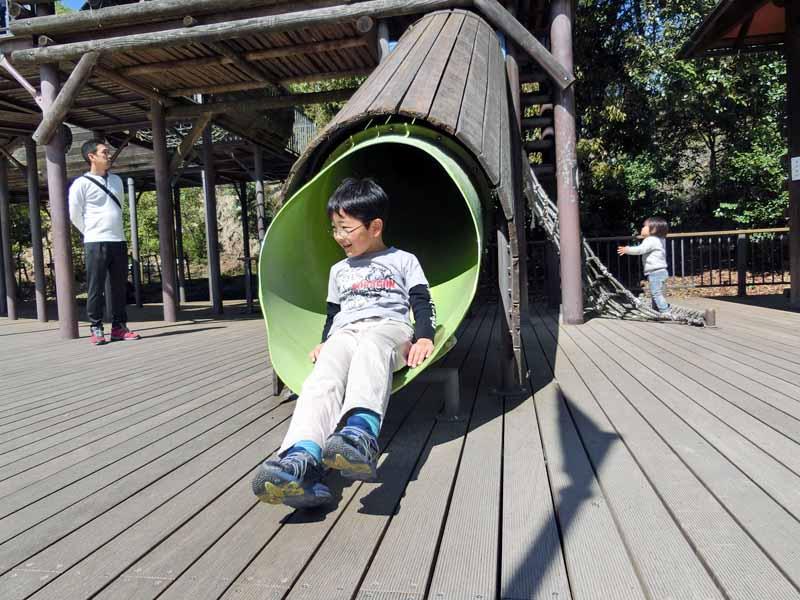 鴻ノ巣山運動公園(城陽市総合運動公園) アスレチック遊具