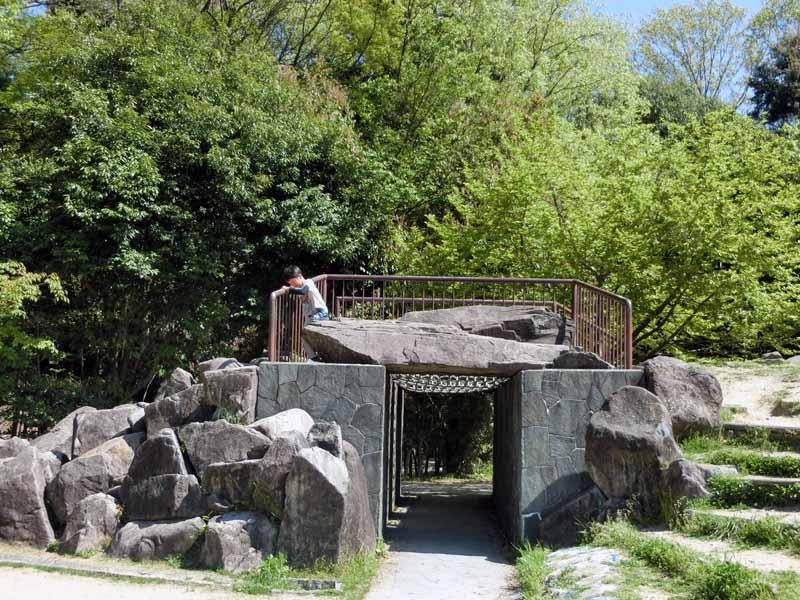 こうのすやま公園(城陽市総合運動公園) ロックヒル