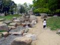 長居公園 水遊び
