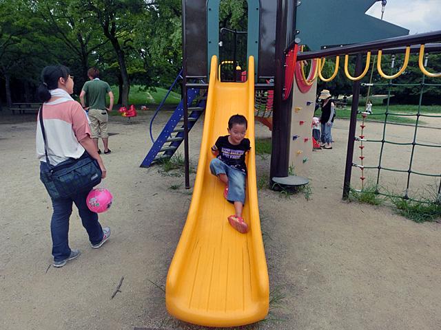 大泉緑地 幼児向け滑り台