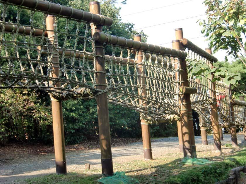 京都府立山城総合運動公園(太陽が丘) 緑の回廊・風の回廊・ジャングルネット